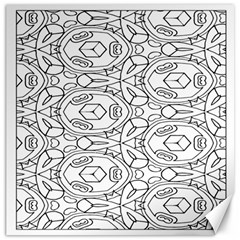 Pattern Silly Coloring Page Cool Canvas 12  X 12