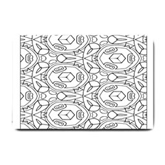 Pattern Silly Coloring Page Cool Small Doormat