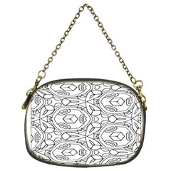 Pattern Silly Coloring Page Cool Chain Purses (two Sides)
