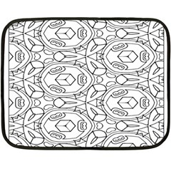 Pattern Silly Coloring Page Cool Fleece Blanket (mini)
