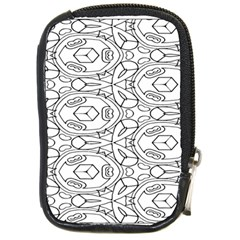 Pattern Silly Coloring Page Cool Compact Camera Cases