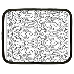 Pattern Silly Coloring Page Cool Netbook Case (XL)