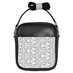 Pattern Silly Coloring Page Cool Girls Sling Bags