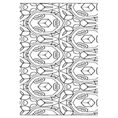 Pattern Silly Coloring Page Cool 5 5  X 8 5  Notebooks