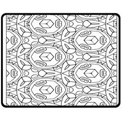 Pattern Silly Coloring Page Cool Fleece Blanket (medium)