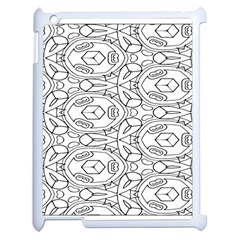 Pattern Silly Coloring Page Cool Apple Ipad 2 Case (white)