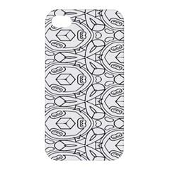 Pattern Silly Coloring Page Cool Apple Iphone 4/4s Hardshell Case