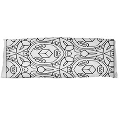 Pattern Silly Coloring Page Cool Body Pillow Case (dakimakura)