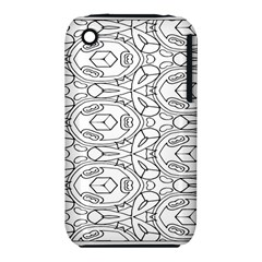 Pattern Silly Coloring Page Cool Iphone 3s/3gs