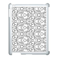 Pattern Silly Coloring Page Cool Apple Ipad 3/4 Case (white)