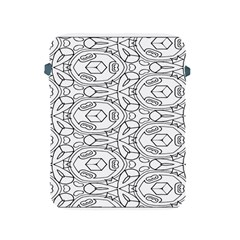 Pattern Silly Coloring Page Cool Apple Ipad 2/3/4 Protective Soft Cases
