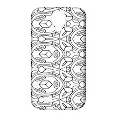 Pattern Silly Coloring Page Cool Samsung Galaxy S4 Classic Hardshell Case (pc+silicone)