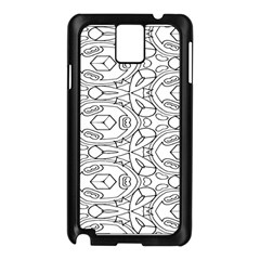 Pattern Silly Coloring Page Cool Samsung Galaxy Note 3 N9005 Case (black)