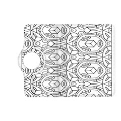Pattern Silly Coloring Page Cool Kindle Fire Hd (2013) Flip 360 Case