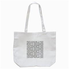 Pattern Silly Coloring Page Cool Tote Bag (white)