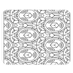 Pattern Silly Coloring Page Cool Double Sided Flano Blanket (medium)