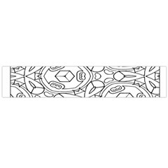 Pattern Silly Coloring Page Cool Flano Scarf (Large)