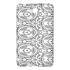 Pattern Silly Coloring Page Cool Samsung Galaxy Tab 4 (7 ) Hardshell Case