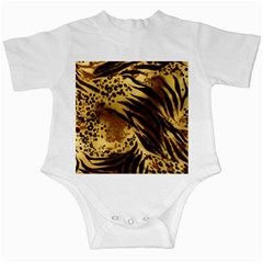 Pattern Tiger Stripes Print Animal Infant Creepers