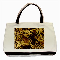 Pattern Tiger Stripes Print Animal Basic Tote Bag