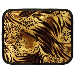Pattern Tiger Stripes Print Animal Netbook Case (large)