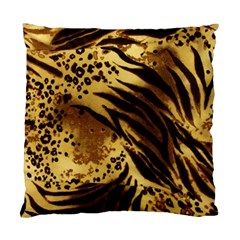 Pattern Tiger Stripes Print Animal Standard Cushion Case (one Side)