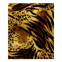 Pattern Tiger Stripes Print Animal Shower Curtain 60  X 72  (medium)
