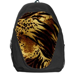 Pattern Tiger Stripes Print Animal Backpack Bag
