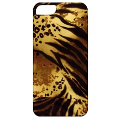 Pattern Tiger Stripes Print Animal Apple Iphone 5 Classic Hardshell Case