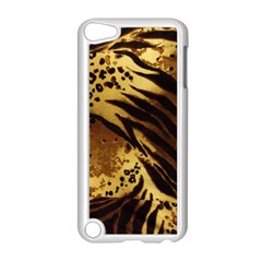 Pattern Tiger Stripes Print Animal Apple Ipod Touch 5 Case (white)
