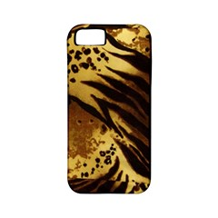 Pattern Tiger Stripes Print Animal Apple Iphone 5 Classic Hardshell Case (pc+silicone)