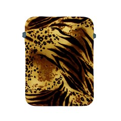 Pattern Tiger Stripes Print Animal Apple Ipad 2/3/4 Protective Soft Cases