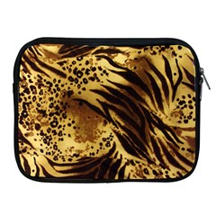 Pattern Tiger Stripes Print Animal Apple Ipad 2/3/4 Zipper Cases