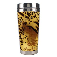 Pattern Tiger Stripes Print Animal Stainless Steel Travel Tumblers