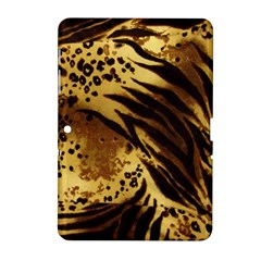 Pattern Tiger Stripes Print Animal Samsung Galaxy Tab 2 (10 1 ) P5100 Hardshell Case