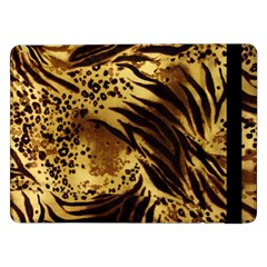 Pattern Tiger Stripes Print Animal Samsung Galaxy Tab Pro 12 2  Flip Case