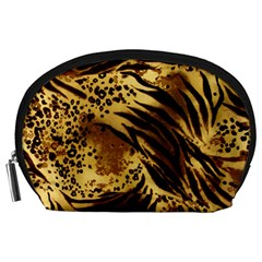 Pattern Tiger Stripes Print Animal Accessory Pouches (large)