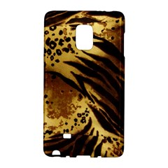 Pattern Tiger Stripes Print Animal Galaxy Note Edge