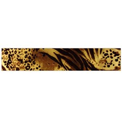 Pattern Tiger Stripes Print Animal Flano Scarf (Large)