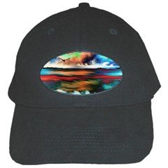 Ocean Waves Birds Colorful Sea Black Cap