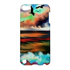 Ocean Waves Birds Colorful Sea Apple Ipod Touch 5 Hardshell Case