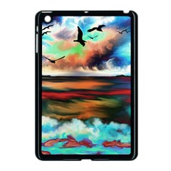 Ocean Waves Birds Colorful Sea Apple Ipad Mini Case (black)
