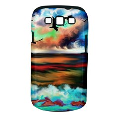 Ocean Waves Birds Colorful Sea Samsung Galaxy S Iii Classic Hardshell Case (pc+silicone)