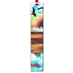 Ocean Waves Birds Colorful Sea Large Book Marks
