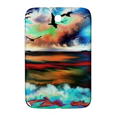 Ocean Waves Birds Colorful Sea Samsung Galaxy Note 8 0 N5100 Hardshell Case