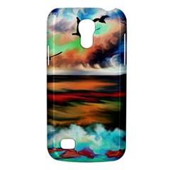 Ocean Waves Birds Colorful Sea Galaxy S4 Mini