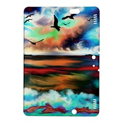 Ocean Waves Birds Colorful Sea Kindle Fire Hdx 8 9  Hardshell Case