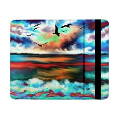 Ocean Waves Birds Colorful Sea Samsung Galaxy Tab Pro 8 4  Flip Case