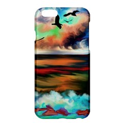 Ocean Waves Birds Colorful Sea Apple Iphone 6 Plus/6s Plus Hardshell Case