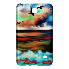 Ocean Waves Birds Colorful Sea Samsung Galaxy Tab 4 (7 ) Hardshell Case